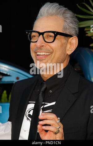 Jeff Goldblum at the Premiere of Universal Pictures' 'Jurassic World: Fallen Kingdom' held at the Walt Disney Concert Hall in Los Angeles, CA, June 12, 2018. Photo by Joseph Martinez / PictureLux - Stock Photo