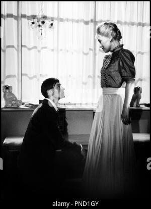 Prod DB © Palladium Film - DFI / DR GERTRUD de Carl Th. Dreyer (Carl Theodor Dreyer) 1964 DAN avec Baard Owe et Nina Pens Rode couple, ambiance, face a face - Stock Photo
