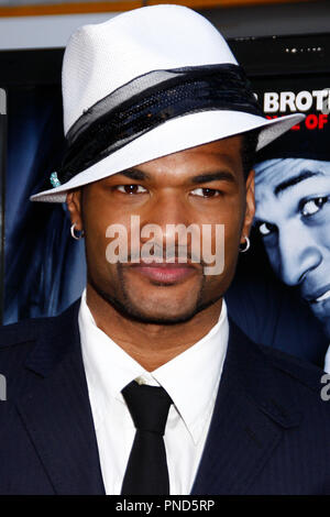 Damien Dante Wayans at the Los Angeles Premiere of DANCE FLICK held at the Arclight Theatres in Hollywood, CA on Wednesday, May 20, 2009. Photo by PRPP / PictureLux  File Reference # Damien_Dante_Wayans_05202009_01PRPP  For Editorial Use Only -  All Rights Reserved - Stock Photo