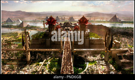Prod DB © Summit Entertainment - Pyramania - Mystery Clock Cinema - Thunder Road Pictures / DR GODS OF EGYPT de Alex Proyas 2016 USA egypte antique, aventure, peplum, - Stock Photo