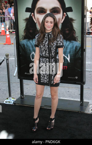 Emmy Rossum at the Los Angeles Premiere of Orphan held at the Manns Village Theater in Westwood, CA Tuesday July 21, 2009 File Reference # EmmyRossum05 72109 RCRAC  For Editorial Use Only -  All Rights Reserved - Stock Photo