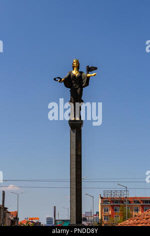 The Saint Sofia Monument in Sofia, Bulgaria. - Stock Photo