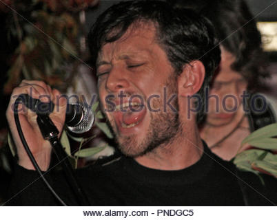 British Sea Power perform in Manchester - Stock Photo