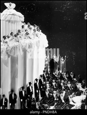 Prod DB © Metro-Goldwyn-Mayer / DR LE GRAND ZIEGFELD (THE GREAT ZIEGFELD) de Robert Z. Leonard 1936 USA comedie musicale - Stock Photo