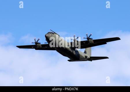Lockheed C-130J Hercules - Stock Photo