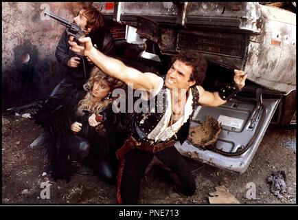 Prod DB © Fulvia Films / DR LES GUERRIERS DU BRONX 2 (FUGA DEL BRONX / BRONX WARRIORS) de Enzo G. Castellari 1984 ITA violence, gangs sequelle - Stock Photo