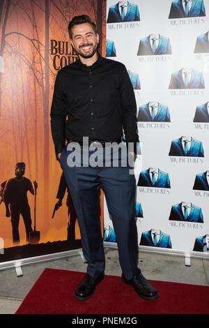 Los Angeles, USA. 13 September, 2018. Sean McDaniel attends the special screening of the award winning thriller BULLITT COUNTY. - Stock Photo