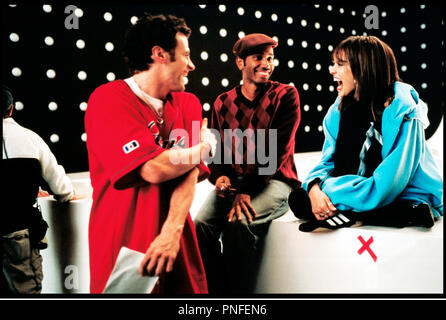 Prod DB © Universal / DR HONEY de Bille Woodruff 2003 USA avec David Moscow, Bille Woodruff et Jessica Alba sur le tournage - Stock Photo