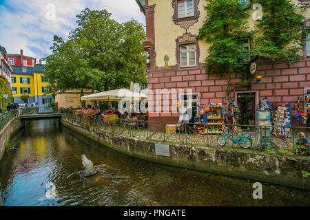 Freiburg. Freiburg im Breisgau. Black Forest. Baden Wurttemberg. Germany - Stock Photo