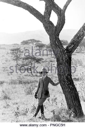 Original film title: OUT OF AFRICA. English title: OUT OF AFRICA. Year: 1985. Director: SYDNEY POLLACK. Stars: MERYL STREEP. Credit: UNIVERSAL PICTURES / Album - Stock Photo