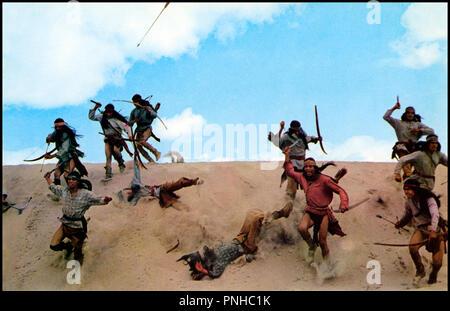 Prod DB © Metro-Goldwyn-Mayer / DR LE JOUR DES APACHES (DAY OF THE EVIL GUN) de Jerry Thorpe 1968 USA  western, indiens, attaque, desert - Stock Photo
