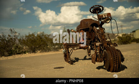 Antique Bike - Stock Photo