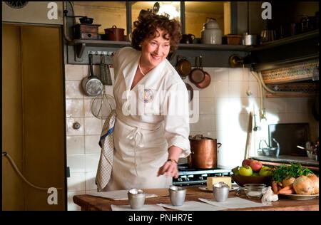 Julie Julia Meryl Streep As Julia Child Date 2009 Stock