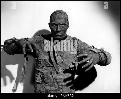 Prod DB © Universal / DR LA MAIN DE LA MOMIE (THE MUMMY'S HAND) de Christy Cabanne 1940 USA avec Tom Tyler science-fiction, fantastique Code N° 1078 - Stock Photo