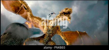Prod DB ©  ImageMovers - Shangri-La Entertainment / DR LA LEGENDE DE BEOWULF (BEOWULF) de Robert Zemeckis 2007 USA fantastique, legende, animation, performance capture, electro oculography, 3D, dragon, - Stock Photo
