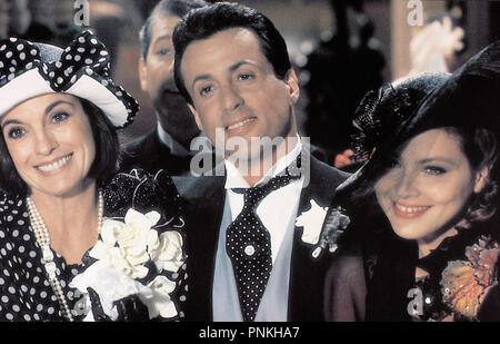 Original film title: OSCAR. English title: OSCAR. Year: 1991. Director: JOHN LANDIS. Stars: ORNELLA MUTI; SYLVESTER STALLONE. Credit: TOUCHSTONE PICTURES / Album - Stock Photo