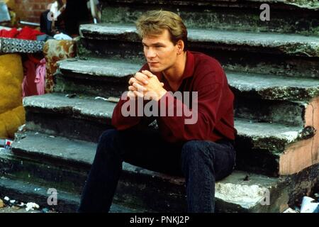 Original film title: GHOST. English title: GHOST. Year: 1990. Director: JERRY ZUCKER. Stars: PATRICK SWAYZE. Credit: PARAMOUNT PICTURES / Album - Stock Photo