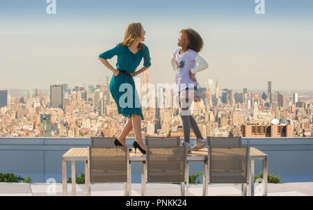 Original film title: ANNIE. English title: ANNIE. Year: 2014. Director: WILL GLUCK. Stars: ROSE BYRNE; QUVENZHANE WALLIS. Credit: SONY PICTURES ENTERTAINMENT / Album - Stock Photo