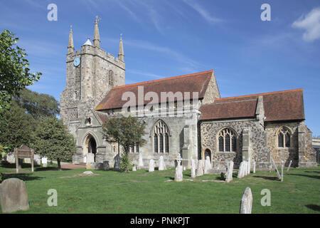 st mary's church hailsham east sussex - Stock Photo