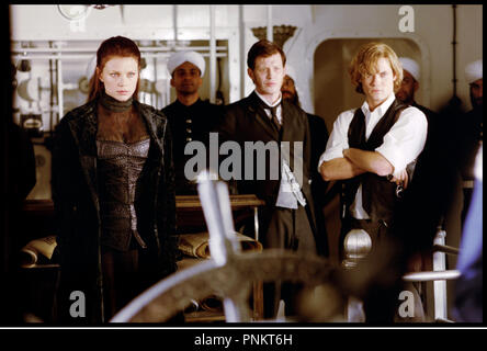 Prod DB ©Ê20th Century Fox / DR THE LEAGUE OF EXTRAORDINARY GENTLEMEN de Stephen Norrington 2003 USA avec Peta Wilson, Jason Flemyng et Shane West gouvernail,  d'apres les B.D. de Alan Moore et Kevin O'Neill - Stock Photo