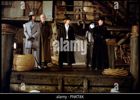 Prod DB © 20th Century Fox / DR LA LIGUE DES GENTLEMEN EXTRAORDINAIRES (THE LEAGUE OF EXTRAORDINARY GENTLEMEN) de Stephen Norrington 2003 USA avec Stuart Townsend, Sean Connery, Shane West, Tony Curran et Peta Wilson d'apres les B.D. de Alan Moore et Kevin O'Neill - Stock Photo