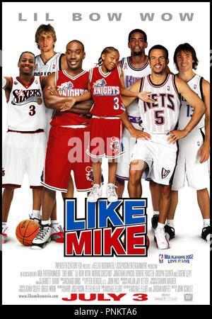 Prod DB ©Ê20th Century Fox - NBA Entertainment / DR LIKE MIKE de John Schultz 2002 USA affiche basket ball - Stock Photo