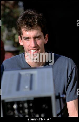 Prod DB ©Ê20th Century Fox - NBA Entertainment / DR LIKE MIKE de John Schultz 2002 USA avec John Schultz sur le tournage moniteur de controle - Stock Photo