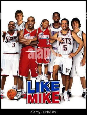 Prod DB ©Ê20th Century Fox - NBA Entertainment / DR LIKE MIKE de John Schultz 2002 USA visuel d'affiche basket ball - Stock Photo