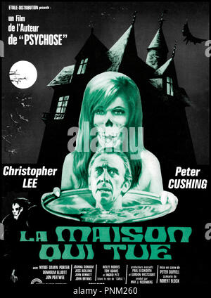 Prod DB © Amicus Productions / DR LA MAISON QUI TUE (THE HOUSE THAT DRIPPLED BLOOD) de Peter Duffell 1979 USA affiche - Stock Photo