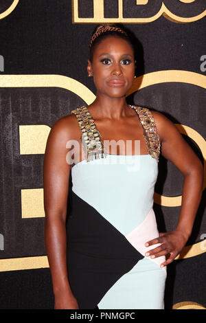 Issa Rae at the 2018 HBO Emmy After Party. Held at the Pacific Design Center in Los Angeles, CA, September 17, 2018. Photo by: R.Anthony / PictureLux - Stock Photo