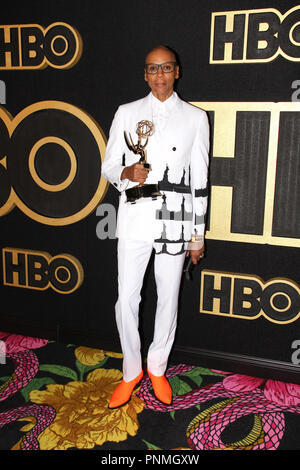 RuPaul at the 2018 HBO Emmy After Party. Held at the Pacific Design Center in Los Angeles, CA, September 17, 2018. Photo by: R.Anthony / PictureLux - Stock Photo