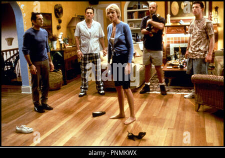 Prod DB © 20 th Century Fox /DR MARY A TOUT PRIX (THERE'S SOMETHING ABOUT MARY) de Bobby et Peter Farrelly 1998 USA avec Ben Stiller, Matt Dillon, Cameron Diaz, Chris Elliot et Lee Evans pieds nus, encercler, salon - Stock Photo