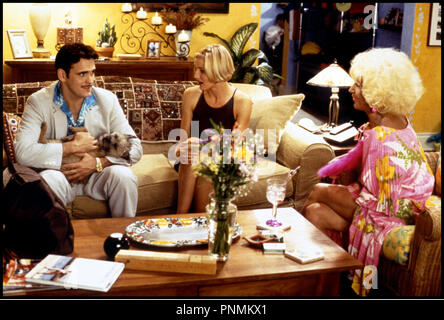 Prod DB © 20 th Century Fox /DR MARY A TOUT PRIX (THERE'S SOMETHING ABOUT MARY) de Bobby et Peter Farrelly 1998 USA avec Matt Dillon, Cameron Diaz et Lin Shaye chien, animal, bronzee, belle-mere - Stock Photo