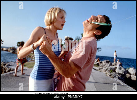 Prod DB © 20 th Century Fox /DR MARY A TOUT PRIX (THERE'S SOMETHING ABOUT MARY) de Bobby et Peter Farrelly 1998 USA avec Cameron Diaz et Ben Stiller hamecon, canne a peche, mal a la bouche, dentiste, - Stock Photo