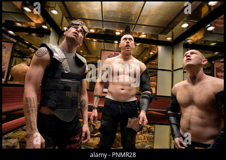 Prod DB © Working Title - Universal / DR MI$E A PRIX (SMOKIN' ACES) de Joe Carnahan 2007 USA / GB / FRA  avec Chris Pine, Kevin Durand et Maury Sterling - Stock Photo