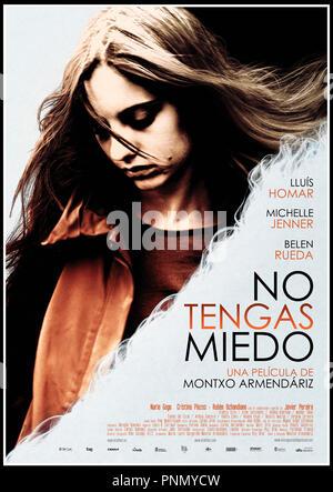 Prod DB © Audiovisual Aval SGR - Etb - Oria Films S.L. / DR N'AIE PAS PEUR (NO TENGAS MIEDO) de Montxo Armendariz 2012 ESP. affiche espagnole - Stock Photo