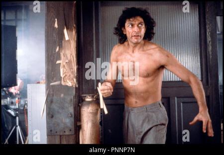 Prod DB © Brooksfilms / DR LA MOUCHE (THE FLY) de David Cronenberg 1986 USA avec Jeff Goldblum hirsute, - Stock Photo
