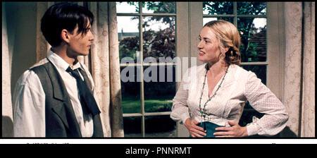 Prod DB © Film Colony / DR NEVERLAND (FINDING NEVERLAND) de Marc Forster 2003 USA / GB avec Johnny Depp et Kate Winslet d'apres la piece de Allan Knee - Stock Photo