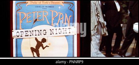 Prod DB © Film Colony / DR NEVERLAND (FINDING NEVERLAND) de Marc Forster 2003 USA / GB theatre, affiche d'apres la piece de Allan Knee - Stock Photo
