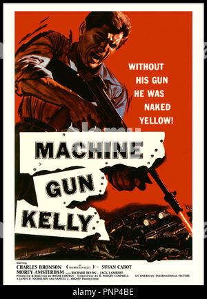 Prod DB © AIP / DR MITRAILLETTE KELLY (MACHINE-GUN KELLY) de roger Corman 1958 USA affiche - Stock Photo