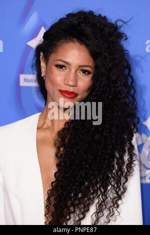 London, UK. 21st Set 2018. Vick Hope at the National Lottery Awards 2018 at the BBC Television Centre, London. Picture: Steve Vas/Featureflash Credit: Paul Smith/Alamy Live News