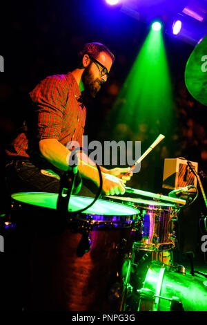 London, UK. 21st September 2018. The Dodge Brothers plays The Garage on Friday 21 September 2018 held at The Garage, London. Pictured: Alex Hammond. Picture by Julie Edwards. Credit: Julie Edwards/Alamy Live News Credit: Julie Edwards/Alamy Live News - Stock Photo
