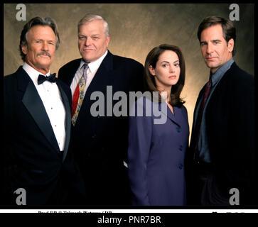 Prod DB © Trimark Pictures / DR NETFORCE de Robert Lieberman 1999 USA avec Kris Kristofferson, Brian Dennehy, Joanna Going et Scott Bakula portrait - Stock Photo