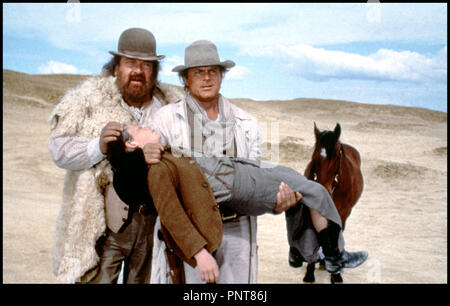 Prod DB © Rialto Film / DR PETIT PAPA BASTON (BOTTE DI NATALE) de Terence Hill 1994 USA / ALL / ITA avec Bud Spencer et Terence Hill western spaghetti, cow-boys, enfant, evanouissement - Stock Photo