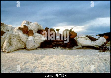 Prod DB © Rialto Film / DR PETIT PAPA BASTON (BOTTE DI NATALE) de Terence Hill 1994 USA / ALL / ITA avec Bud Spencer et Terence Hill western spaghetti, dormir a la belle etoile - Stock Photo