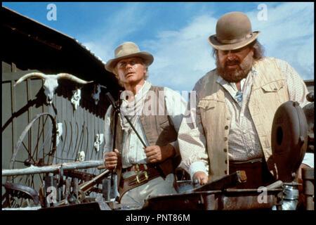 Prod DB © Rialto Film / DR PETIT PAPA BASTON (BOTTE DI NATALE) de Terence Hill 1994 USA / ALL / ITA avec Terence Hill et Bud Spencer western spaghetti, - Stock Photo