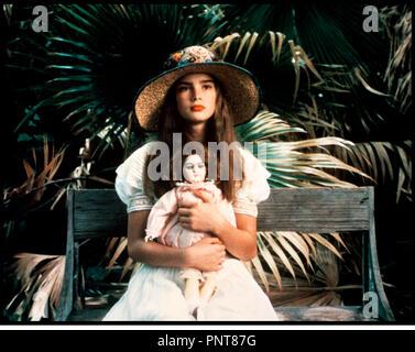 Prod DB © Paramount / DR LA PETITE (PRETTY BABY) de Louis Malle 1978 USA avec Brooke Shields lolita - Stock Photo