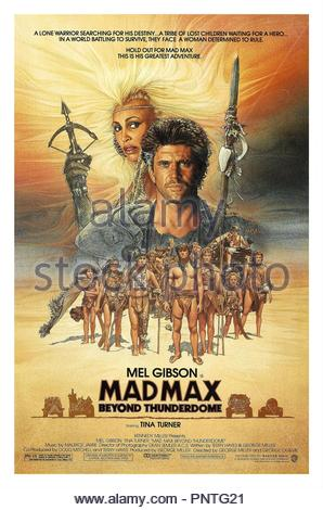 Original film title: MAD MAX III: BEYOND THUNDERDOME. English title: MAD MAX III: BEYOND THUNDERDOME. Year: 1985. Director: GEORGE MILLER. Credit: WARNER BROTHERS / Album - Stock Photo