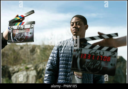 Prod DB © Lionsgate - Saban Brands -Saban Entertainment / DR POWER RANGERS de Dean Israelite 2017 USA avec RJ Cyler sur le tournage - Stock Photo