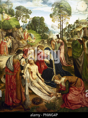 The Life Of Christ Right Panel Detail Christ And The Adulteress